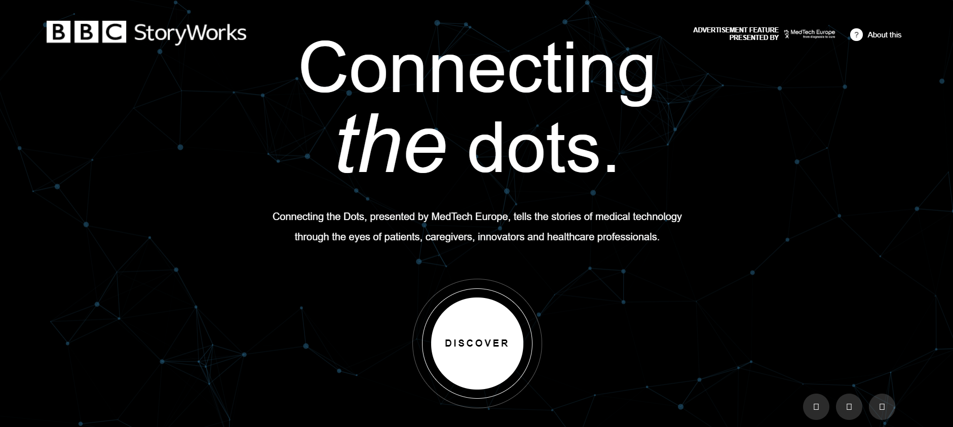 """Connecting the Dots"": A nova série de filmes sobre tecnologias médicas"